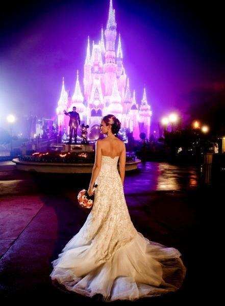 Disney world wedding pinpoint