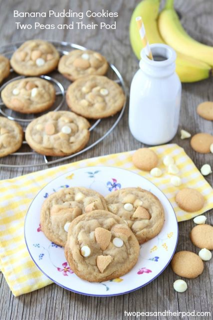 banana pudding cookies | Most Popular Pins