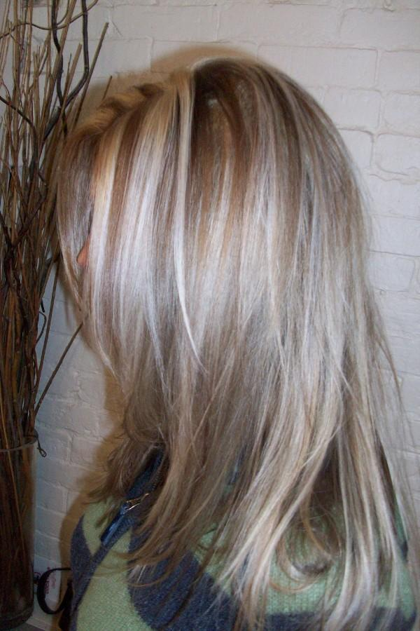 Blonde Hair With Brown Lowlights Underneath