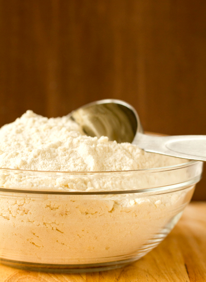 Make a boxed cake mix taste like a bakery. Step 1: Look at the directions on the