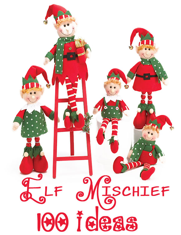 100 mischievous elf ideas for all of you elf on a shelf