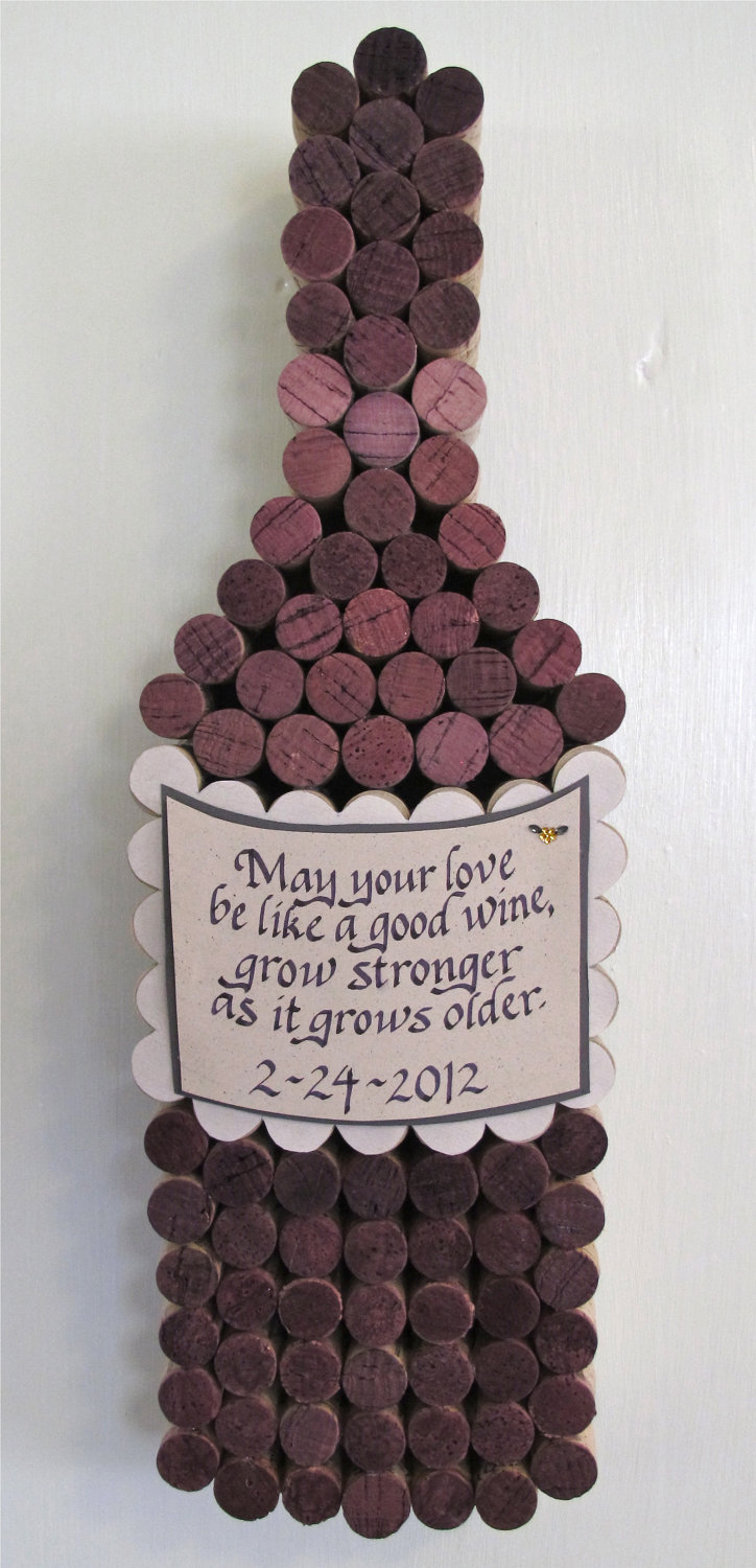 Cork wine bottle pinpoint for Making a cork board from wine corks