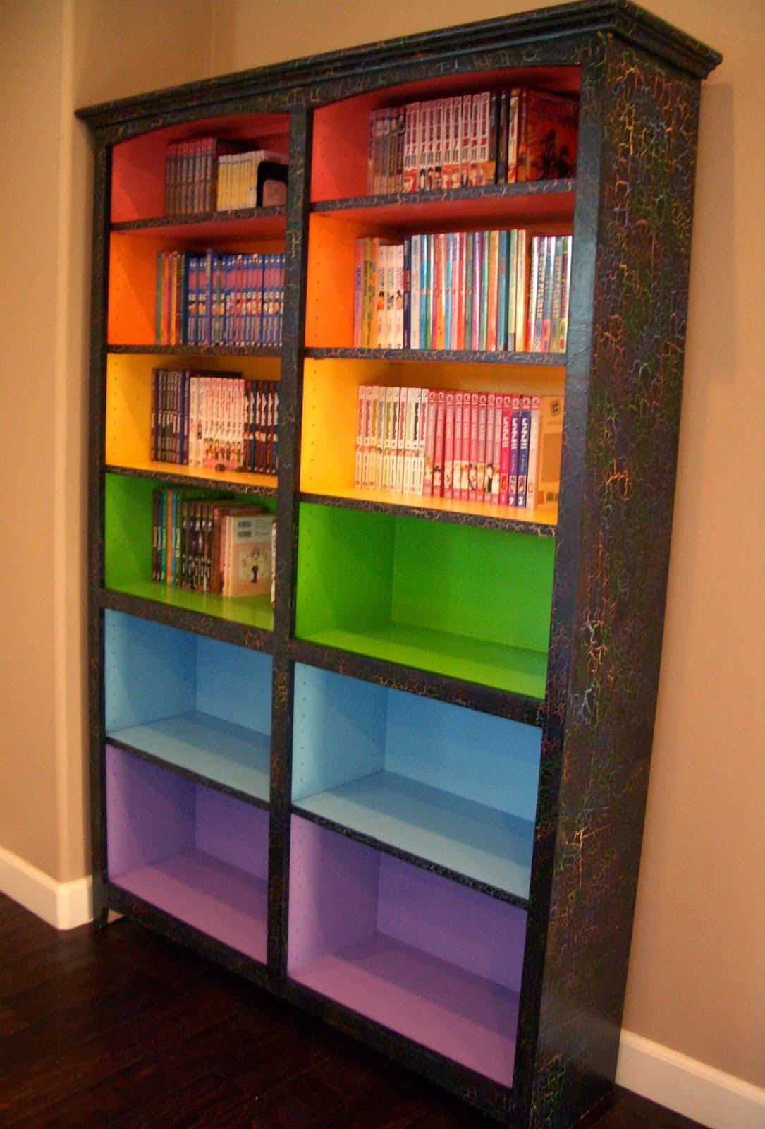 Книжные шкафы и стеллажи своими руками