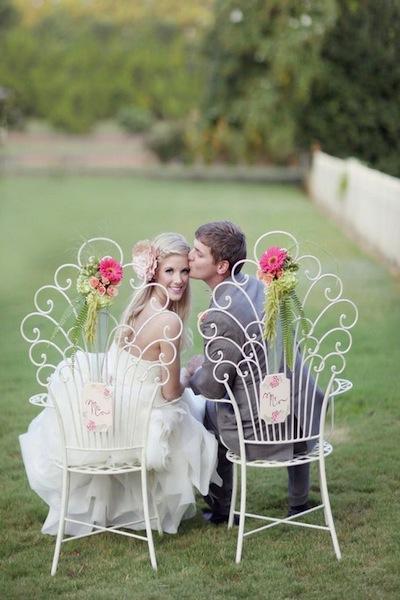garden wedding chairs