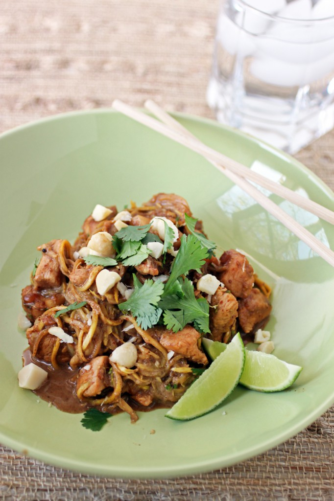 Paleo pad thai primal palate paleo food recipe for Healthy chicken pad thai
