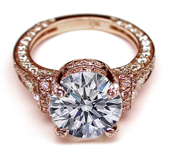 Vintage Rose Gold Ring 26