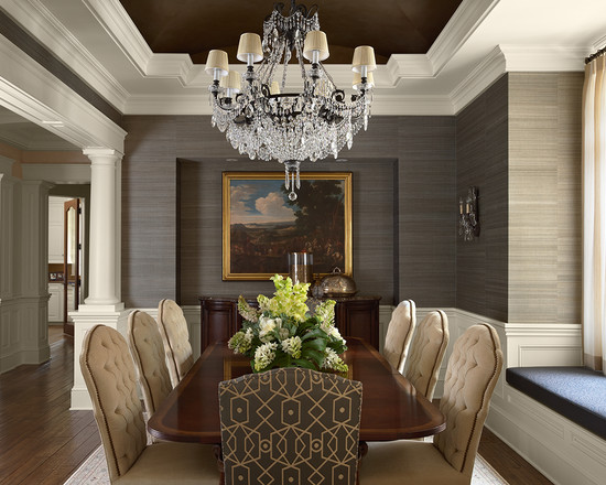 Wallpaper designs for dining room release date price for Dining room wallpaper designs