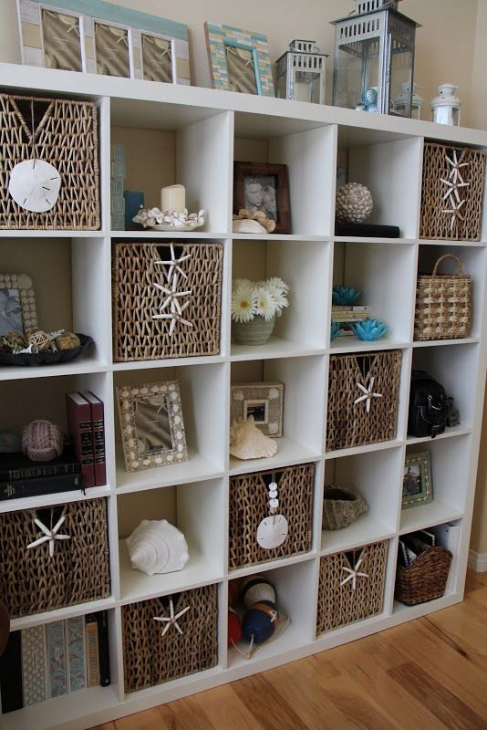 several great ideas here – click through to see them all!  Team Mueller: Daily Tide 7.15 = Decorating With