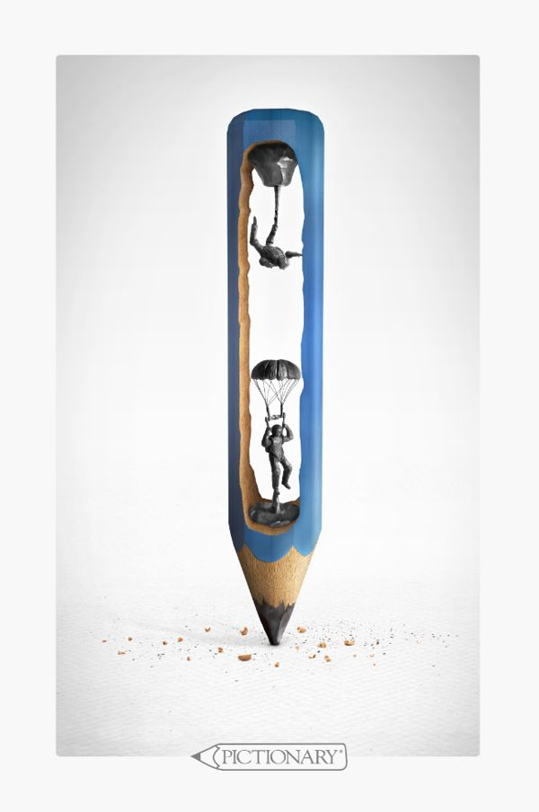 Pictionary Pencils 2010 on Behance