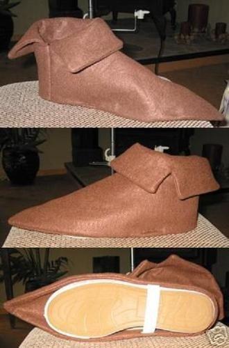 Costume Shoe Covers Peter Pan Elf Seven Dwarfs   eBay