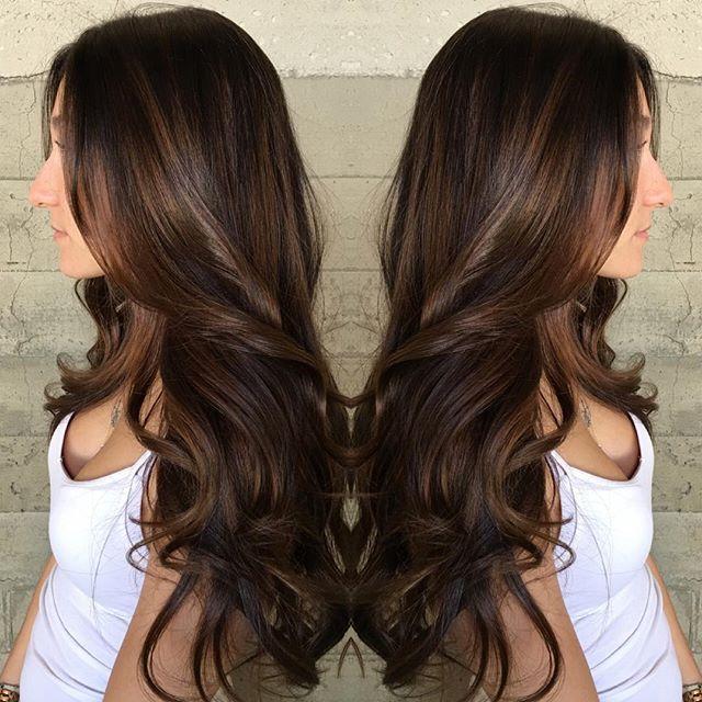 ... Hair Design. Long brown hair Loose curls hotonbeauty.com ⋆ PinPoint