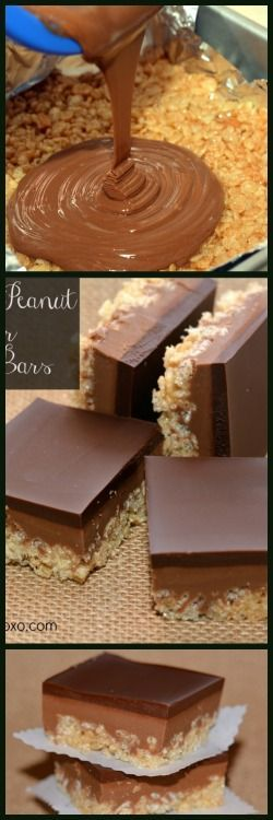 Move over rice kripsy treats! Theres a new wicked treat in town. Can you say…..Caramel Peanut B