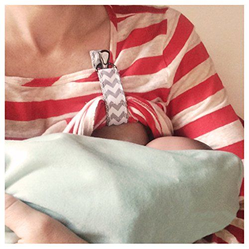 LatchPal Hands-free Nursing Clip – an Ideal Accessory for your Nursing Cover, Gray
