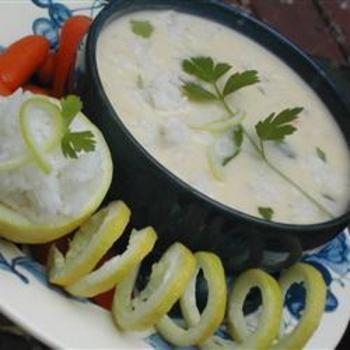Easy Avgolemono Soup