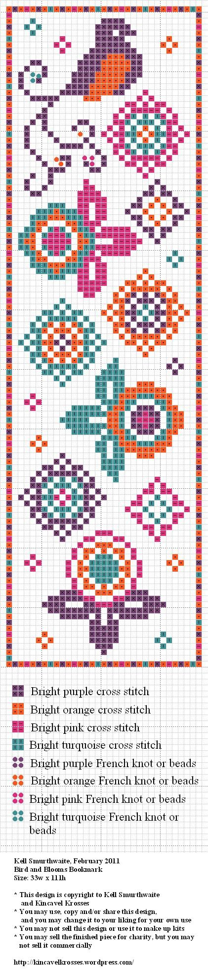 Cross stitch book mark or for my iphone case….