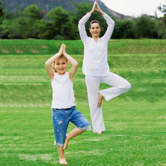 13 Yoga poses to do with the kids. :-)