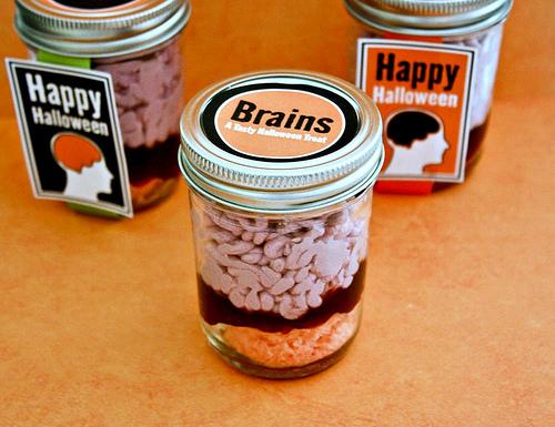 Brains in Jar Treat
