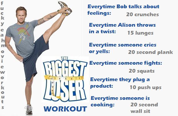 Biggest Loser workout!
