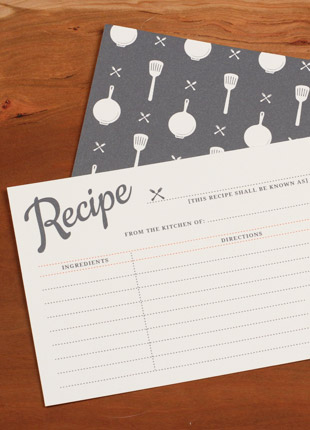 Free printable vintage recipe cards. The best part?? It's an interactive PDF