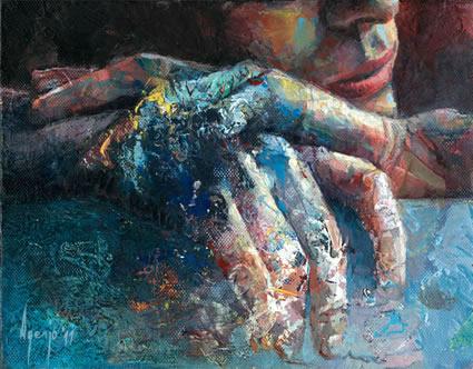 London, UK artist David Agenjo #art #painters