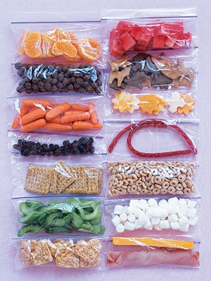eatfruit-getskinny: 100 calorie snack pack ideas. Love this idea, AND love how i