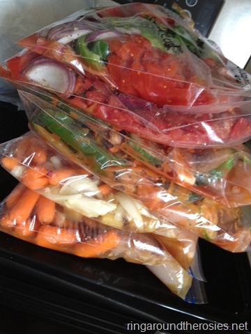 12 healthy crockpot meals that can be prepped and frozen… for a busy week! Gre
