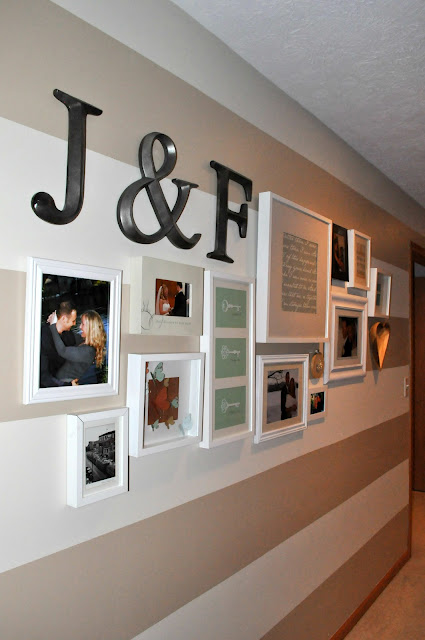 Your relationship as a timeline on your wall in master bedroom or hallway