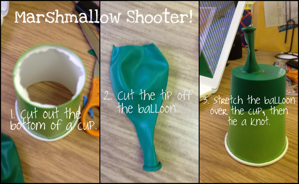 The Techy Teacher: Force and Motion — Marshmallow Shooters!