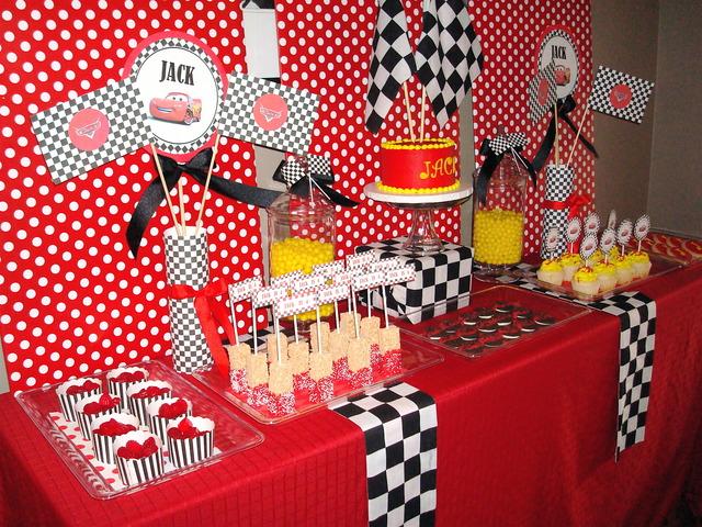 Cars birthday party!