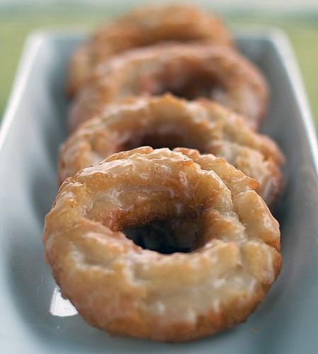 Old-Fashioned Sour Cream Doughnuts