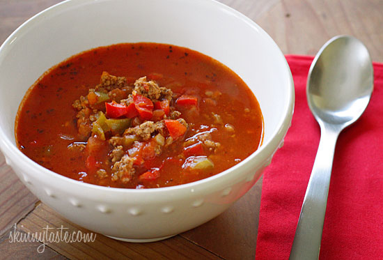 Stuffed Pepper Soup – this passed the picky eater test with both of my kids, the