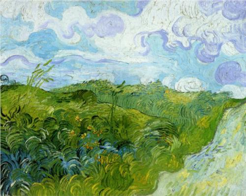 Green Wheat Fields  – Vincent van Gogh