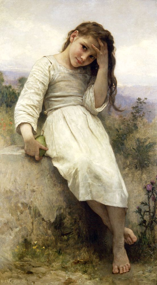 Little Thief by William-Adolphe Bouguereau