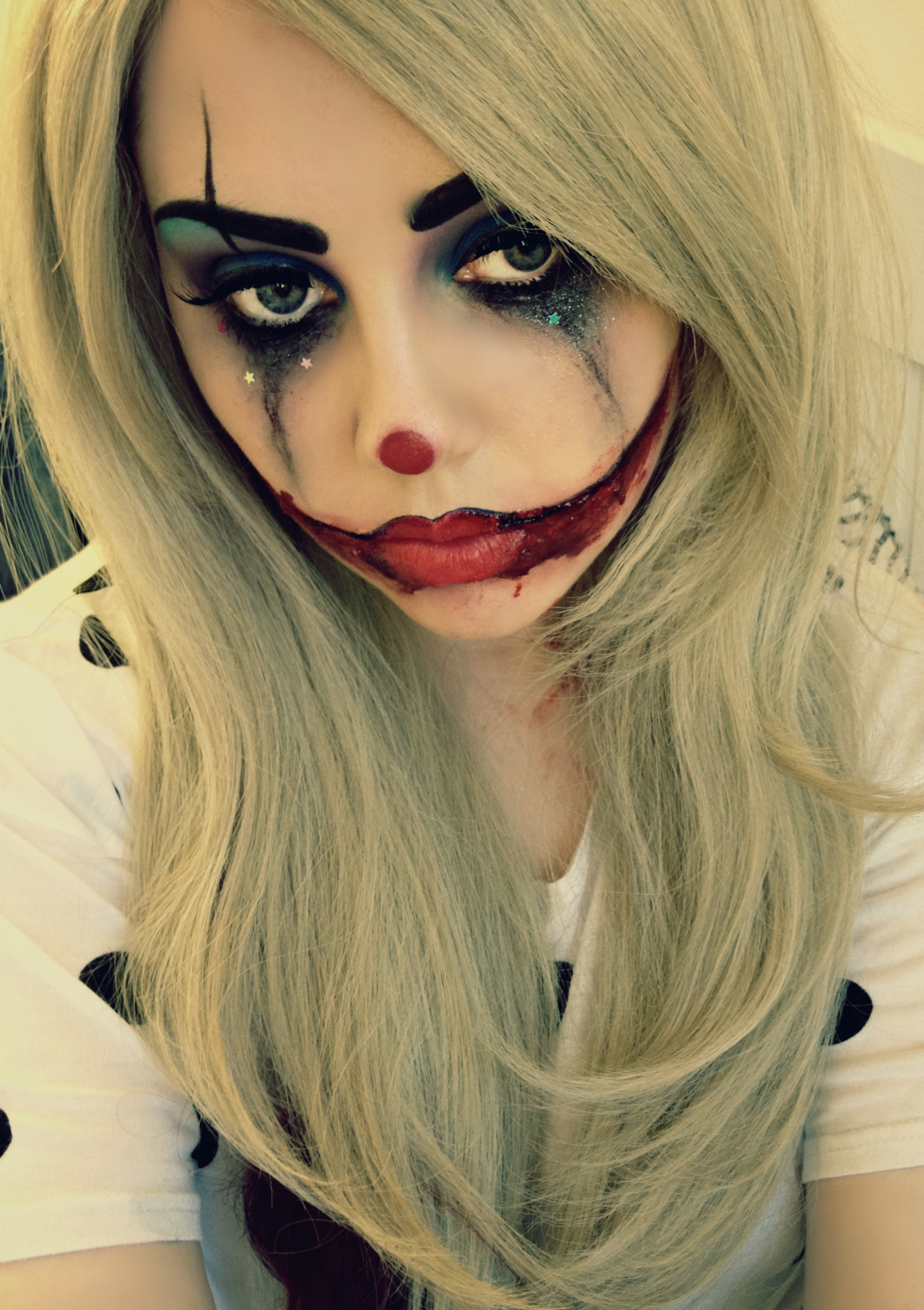 Make-up for halloween- wow