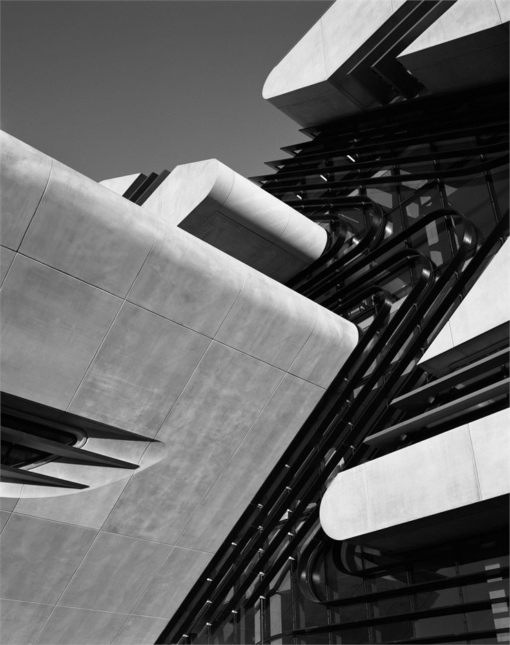Pierres Vives, Montpellier, 2012 by #Zaha #Hadid #architecture #facade