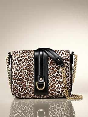 Talbots – Mini-Leopard Print Chain-Strap Bag | Handbags |
