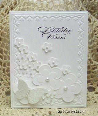 Nice white card