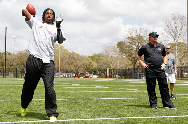 RG 3 and Gruden