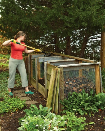 Link to plans for compost bin