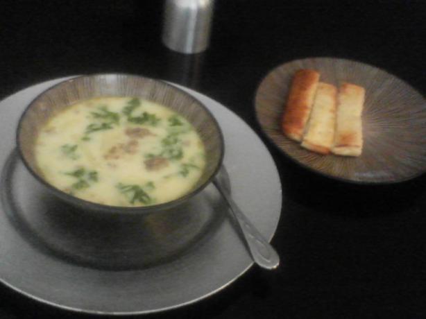 Olive garden soup!