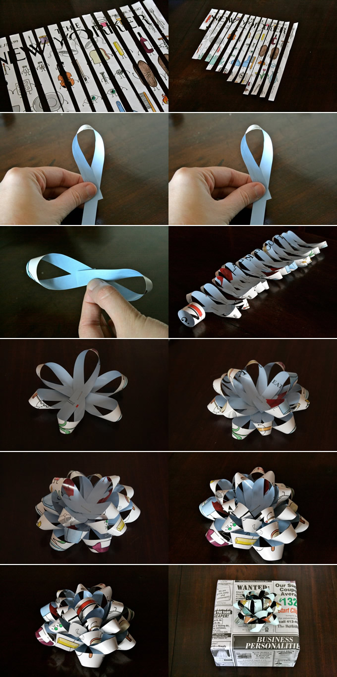 how to make gift bows…