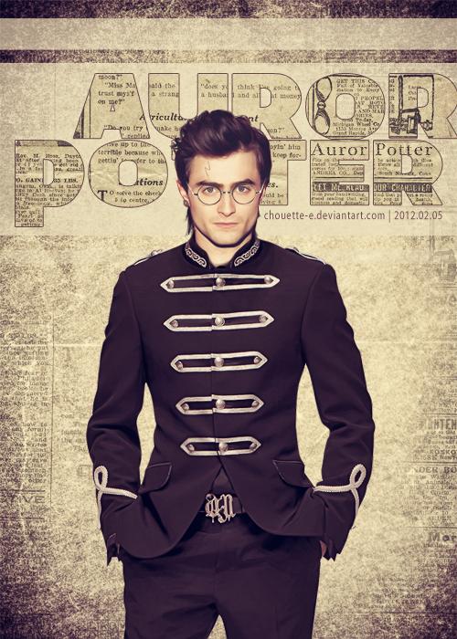 Auror Potter – gorgeous!