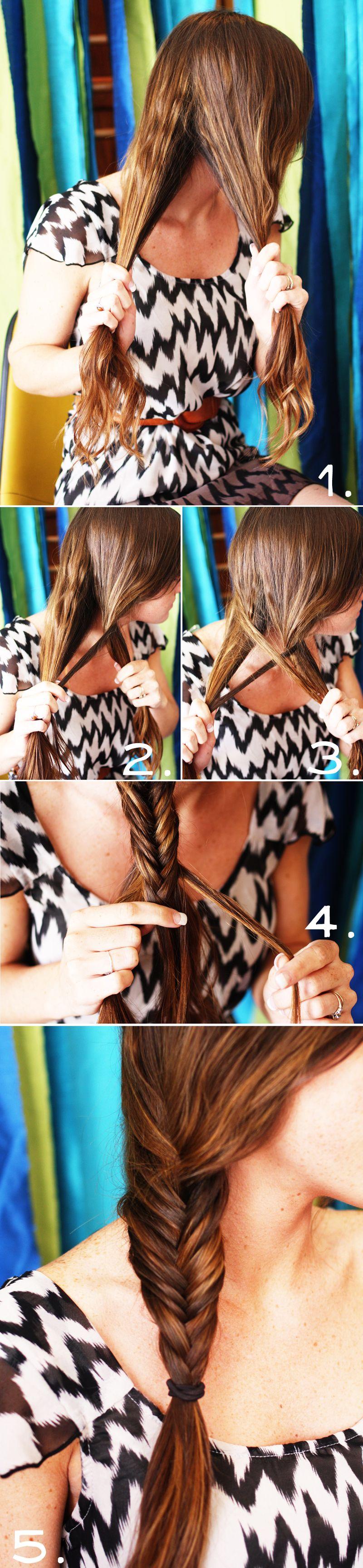 fish tail braid