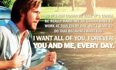 ♥ the Notebook…