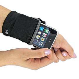 Keep cash, cards and your phone secure on your wrist. Be nice to have when runni