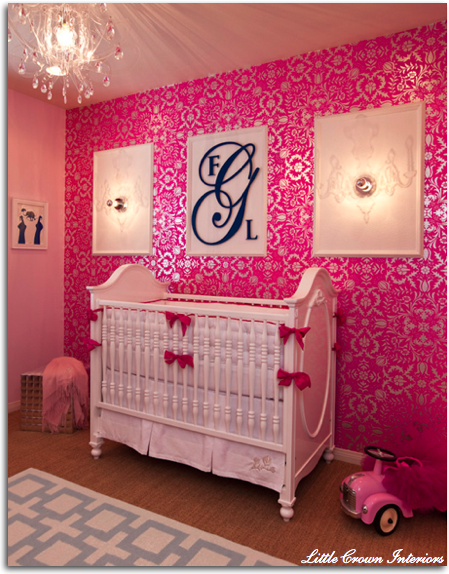 Some day I'm going to have a little baby girl, and her nursery is going to look