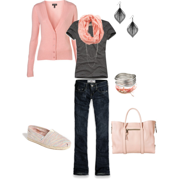 Casual Pale Pink