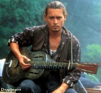Johnny Depp in Chocolate…