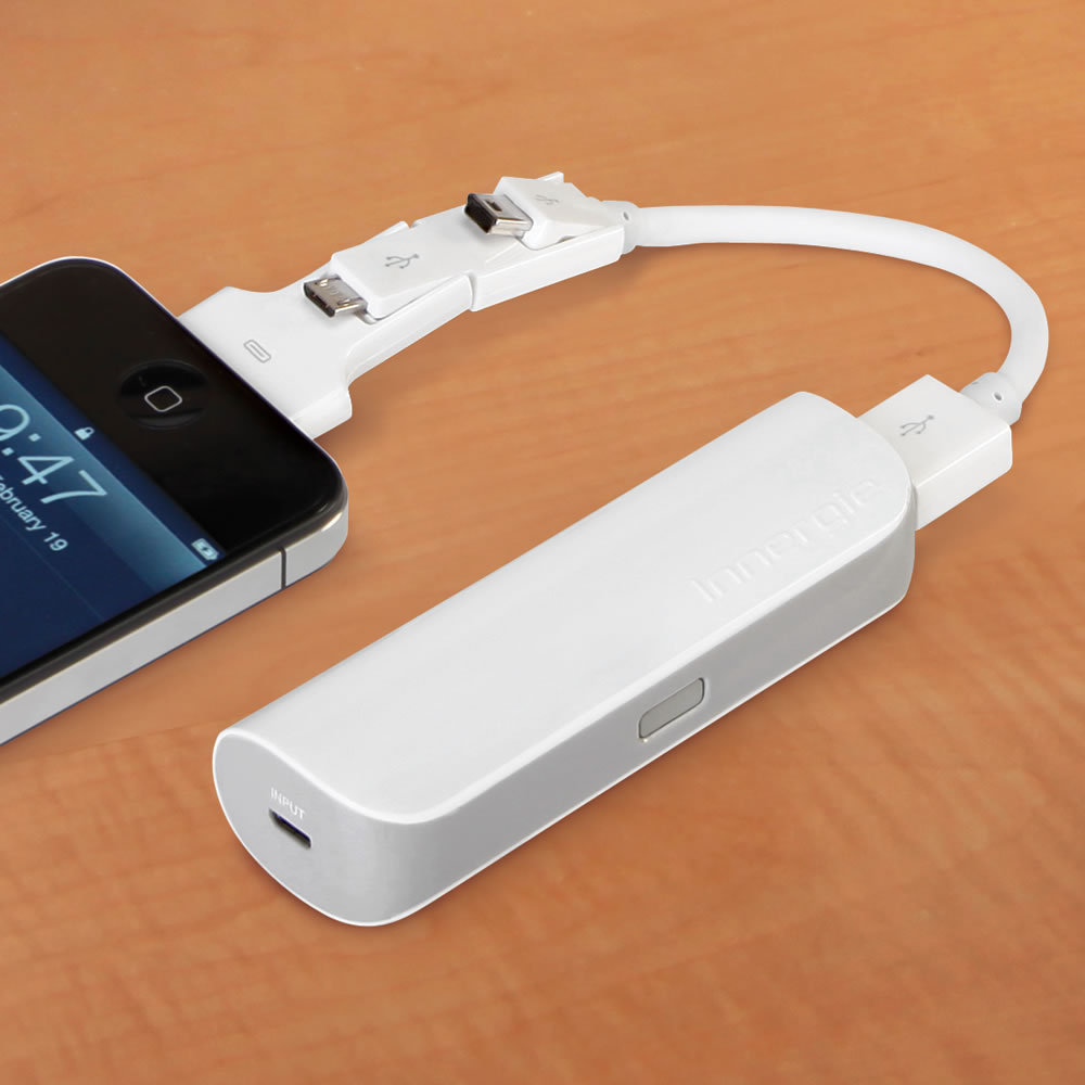 The Cordless Pocket iPhone And USB Charger – Hammacher Schlemmer