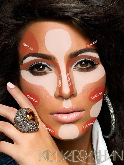 maquillaje e iluminador